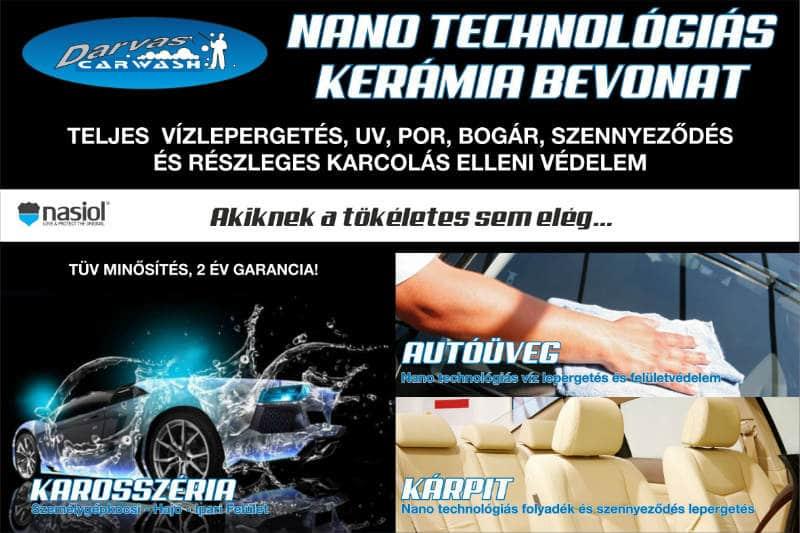 Nanokerámiás autókezelés Budapest - Best Autókozmetika Kft