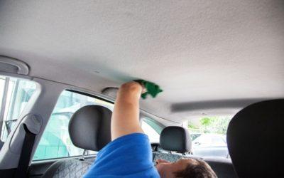 Autókárpit tisztítás: tetőkárpit – a legtöbbször elfelejtett részlet